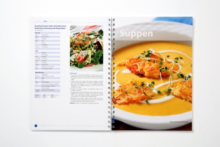 Milchrezepte-Kochbuch